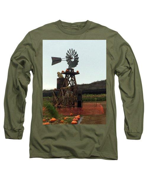 Windmill Long Sleeve T-Shirt by Enzie Shahmiri