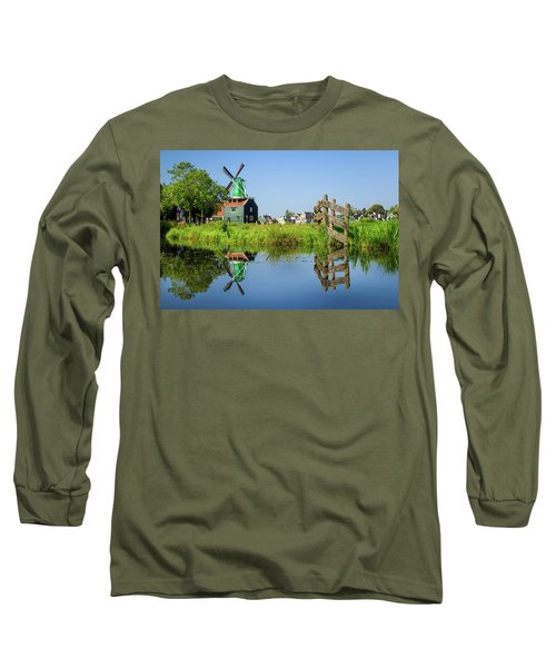 Windmill Reflection Long Sleeve T-Shirt