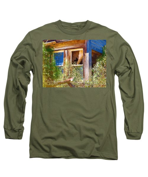 Long Sleeve T-Shirt featuring the photograph Window 2 by Susan Kinney