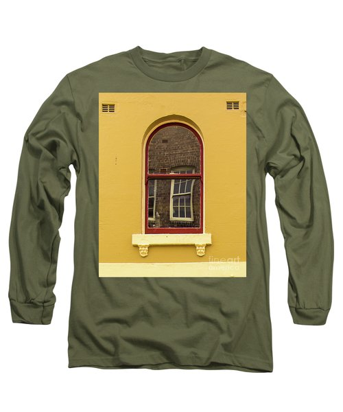 Long Sleeve T-Shirt featuring the photograph Window And Window 2 by Perry Webster