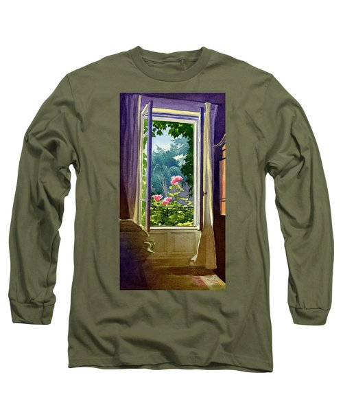 Window At Clermont Long Sleeve T-Shirt