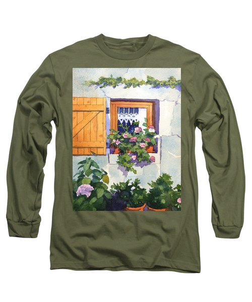 Window At St Saturnin Long Sleeve T-Shirt