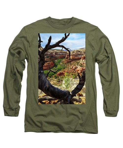 Long Sleeve T-Shirt featuring the photograph Window by Chad Dutson