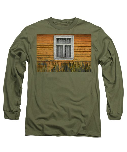 Window In The Old House Long Sleeve T-Shirt