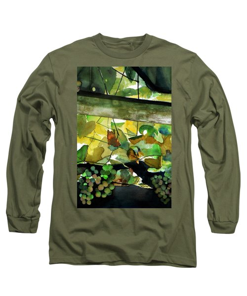 Wine In Progress Long Sleeve T-Shirt