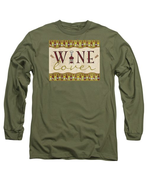 Wine Lover Long Sleeve T-Shirt