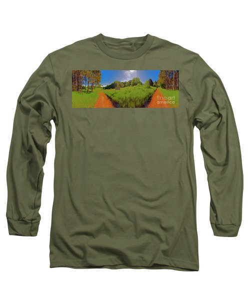 Wingate, Prairie, Pines Trail Long Sleeve T-Shirt