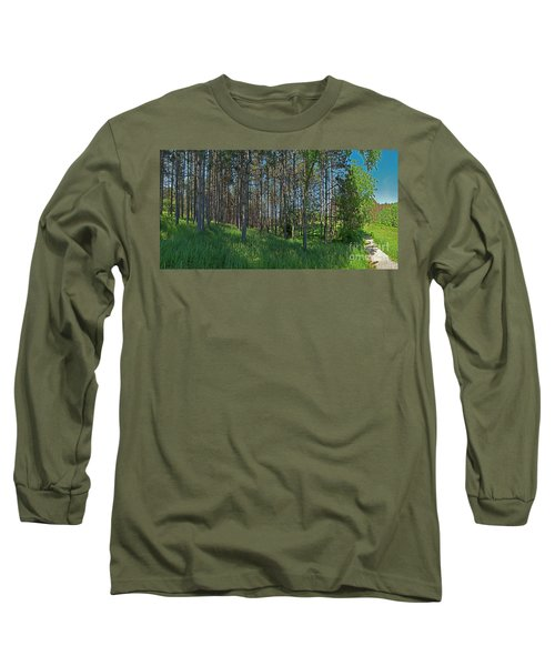 Wingate Prairie Veteran Acres Park Pines Crystal Lake Il Long Sleeve T-Shirt