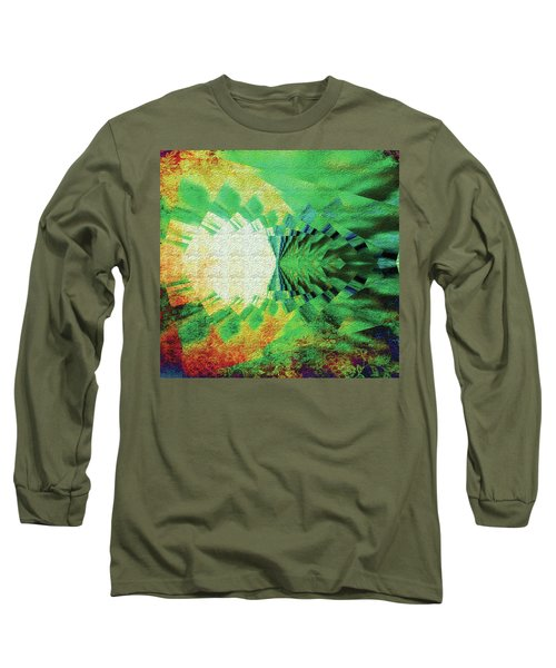 Winged Migration Long Sleeve T-Shirt by Paula Ayers