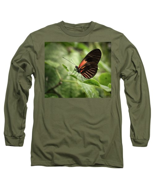 Wings Of The Tropics Butterfly Long Sleeve T-Shirt