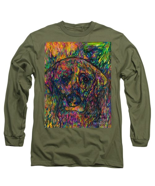 Winnie The Dog Long Sleeve T-Shirt