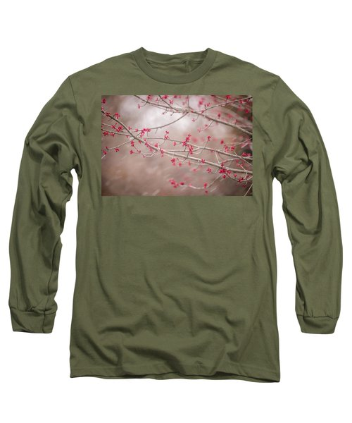 Long Sleeve T-Shirt featuring the photograph Winter And Spring by Terry DeLuco