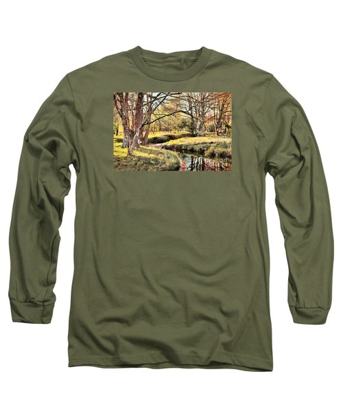 Winter Artistry Ap Long Sleeve T-Shirt by Dan Carmichael