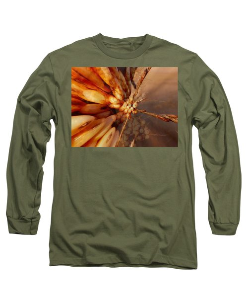 Long Sleeve T-Shirt featuring the photograph Winter Berries by Keith Elliott