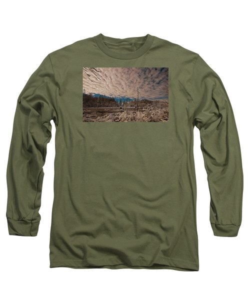 Winter In The Wetlands Long Sleeve T-Shirt by John Harding