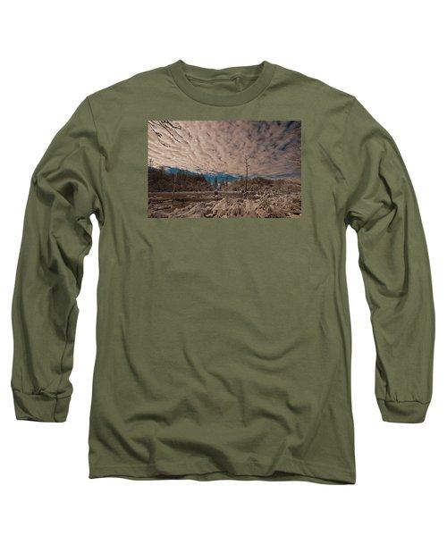 Winter In The Wetlands Long Sleeve T-Shirt