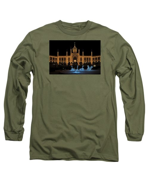 Long Sleeve T-Shirt featuring the photograph Winter In Tivoli Gardens by Inge Riis McDonald