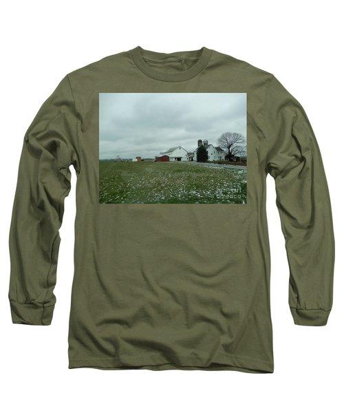 Winter Letting Go Long Sleeve T-Shirt