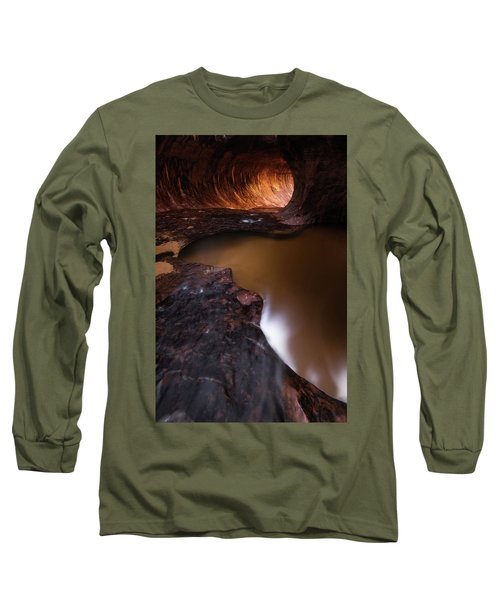 Long Sleeve T-Shirt featuring the photograph Winter Light by Dustin LeFevre