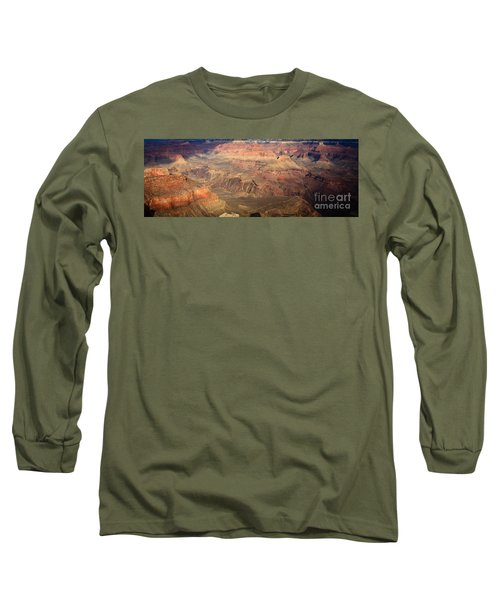 Winter Light In Grand Canyon Long Sleeve T-Shirt