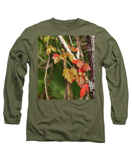 Winter On Gillot Blvd. Pt. Charlotte,fl Long Sleeve T-Shirt