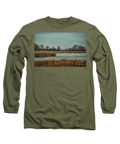 Winter On The Water Long Sleeve T-Shirt by Tamera James