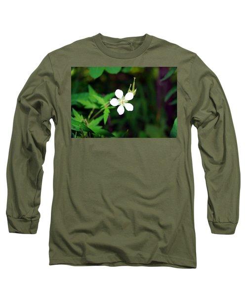 Winter Park White Long Sleeve T-Shirt
