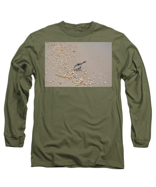 Winter Sanderling Long Sleeve T-Shirt