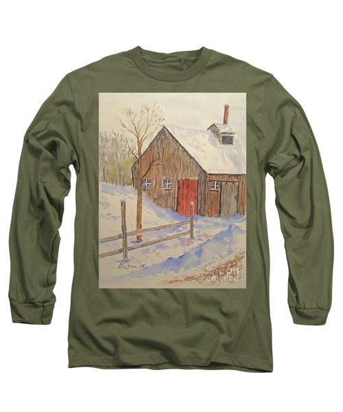Winter Sugar House Long Sleeve T-Shirt