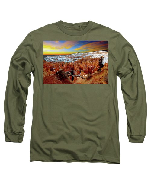 Winter Sunrise At Bryce Long Sleeve T-Shirt