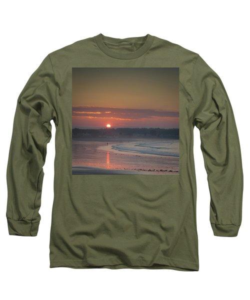 Winter Sunrise - Kennebunk Long Sleeve T-Shirt