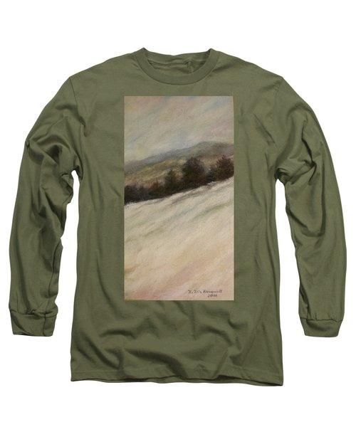 Winter Twilight Long Sleeve T-Shirt by Kathleen McDermott
