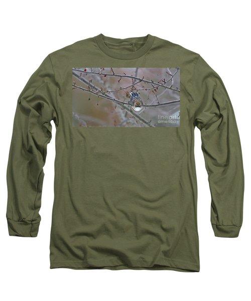 Winter Yellow-rumped Long Sleeve T-Shirt