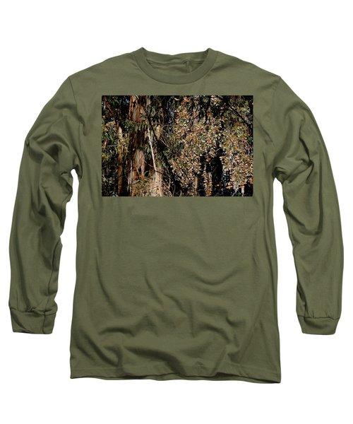 Wintering Monarchs Long Sleeve T-Shirt