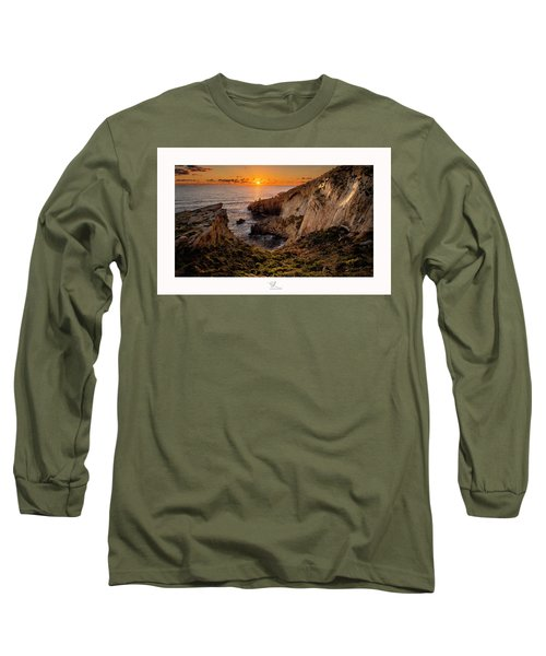 Winter's Sunset Long Sleeve T-Shirt