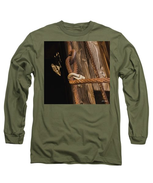 Wire Rope Long Sleeve T-Shirt