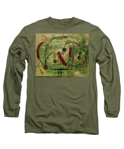Wired Composition Enigma Long Sleeve T-Shirt