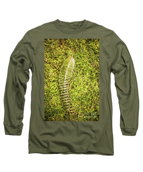 Wisdom In Nature Long Sleeve T-Shirt