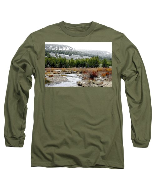 Wise River Montana Long Sleeve T-Shirt