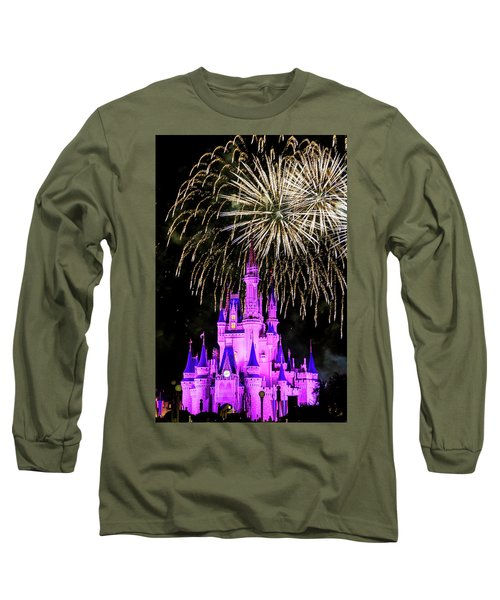 Wishes Fireworks Disney World  Long Sleeve T-Shirt