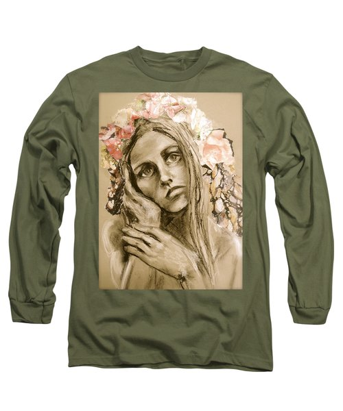Within Long Sleeve T-Shirt by Mary Schiros
