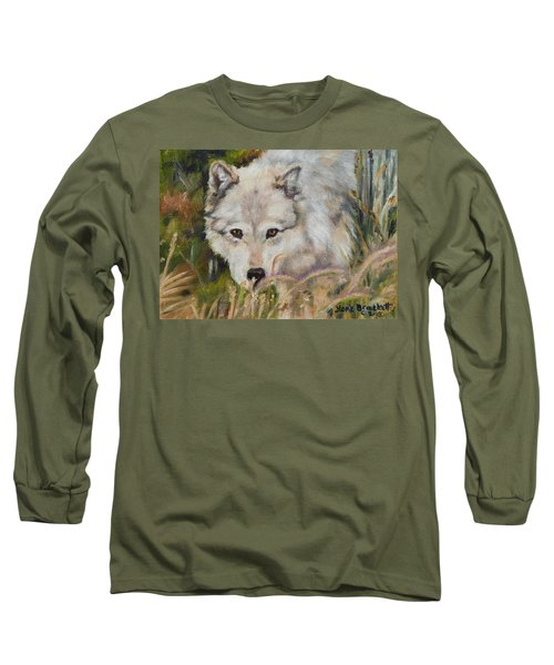 Wolf Among Foxtails Long Sleeve T-Shirt
