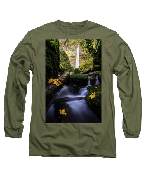 Wonderland In The Gorge Long Sleeve T-Shirt by Bjorn Burton