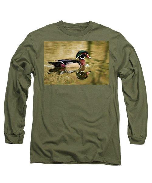 Wood Duck Cruising Long Sleeve T-Shirt