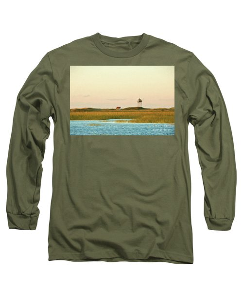Wood End Lighthouse Long Sleeve T-Shirt