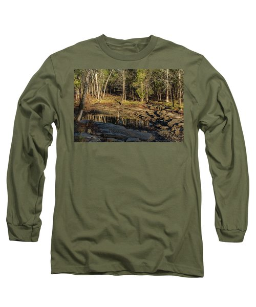 Wooded Backwash Long Sleeve T-Shirt