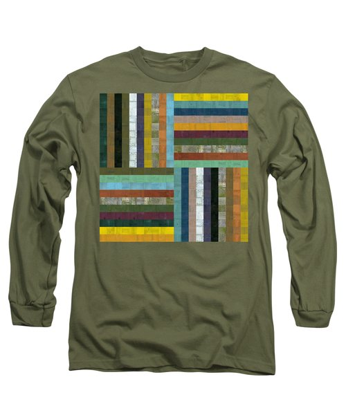 Wooden Abstract V  Long Sleeve T-Shirt
