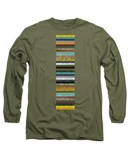 Wooden Abstract Xl Long Sleeve T-Shirt