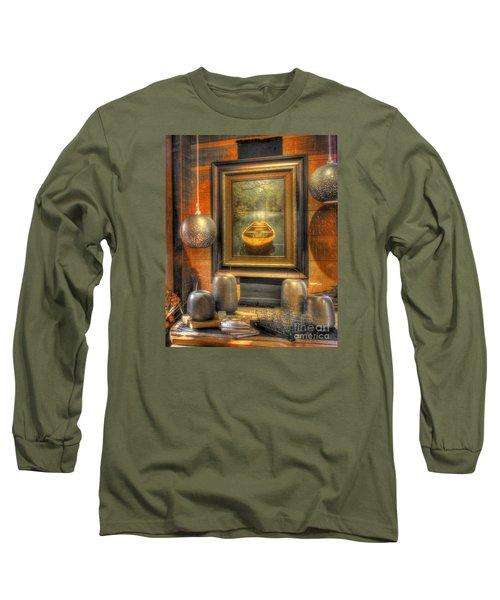 Wooden Art Long Sleeve T-Shirt
