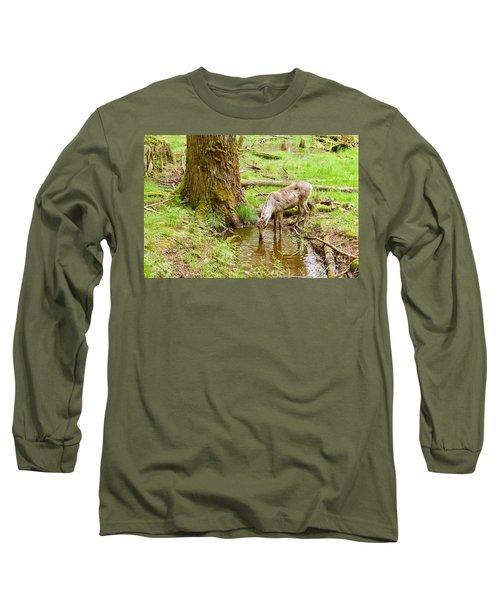 Woodland Caribou Long Sleeve T-Shirt